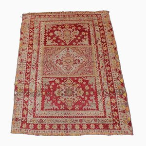 Turkish Wool Oushak Carpet, 1950s