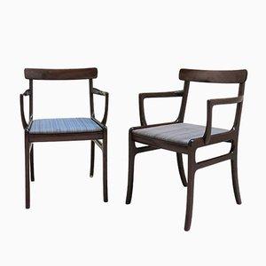 Scandinavian Lounge Chairs by Ole Wanscher for Poul Jeppesens Møbelfabrik, 1960s, Set of 2