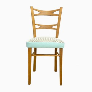 Spanish Wooden Dining Chair from Muebles Mocholi, 1960s