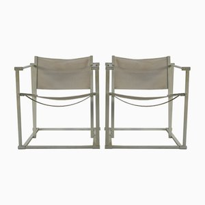 Minimalistic Armchairs by Radboud Van Beekum for Pastoe, 1980s, Set of 2