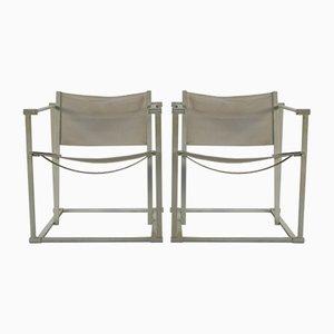 Minimalistic Armchairs by Radboud Van Beekum for Pastoe, 1980s, Set of 2