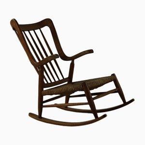 Oak Rocking Chair, 1960s