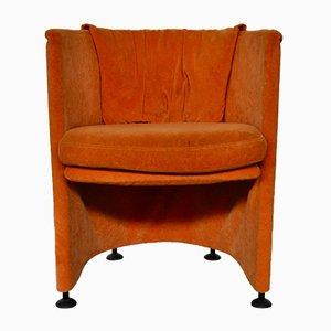 Vintage Italian Velvet Armchair from Corinto, 1970s