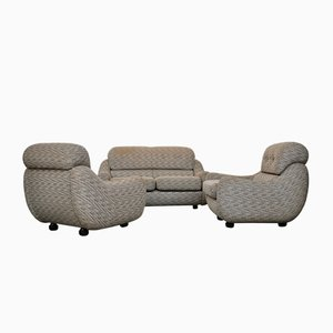 Vintage Italian Sofas, Set of 3