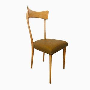 Chaises de Salon Mid-Century par Ico Luisa Parisi pour Alberto Colombo, Set de 4