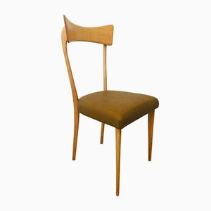 Mid-Century Dining Chairs by Ico Luisa Parisi for Alberto Colombo, Set of 4