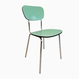 Vintage Green Dining Chair