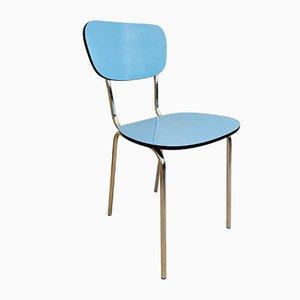 Chaise de Salon Vintage Bleue
