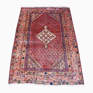Vintage Middle East Wool Sarough Mir Carpet, 1950s