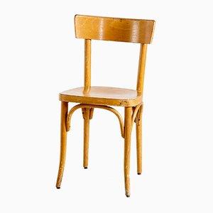Beistellstuhl aus Buche von Gebrüder Thonet Vienna GmbH, 1950er