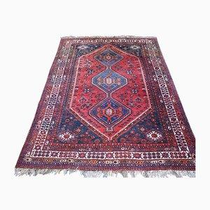 Vintage Middle East Wool Ghashghai Carpet, 1950s