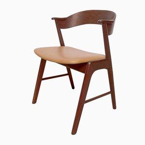 Mid-Century Danish Rosewood Model 32 Desk Chair by Kai Kristiansen for Schou Andersen, 1960s