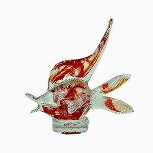 Murano Glas Fisch von Murano, 1970er