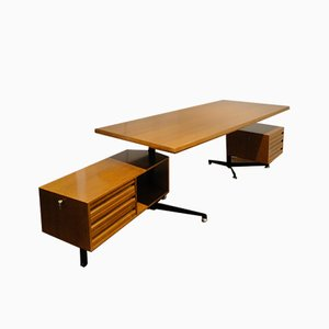 Italian T95 Desk by Osvaldo Borsani for Tecno, 1950s