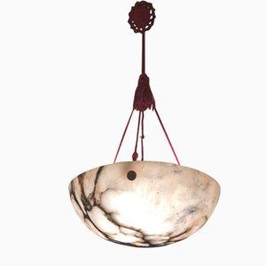 Vintage Alabaster Ceiling Lamp