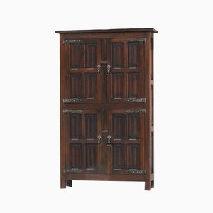 Art and Crafts Oak Cupboard, 1900s