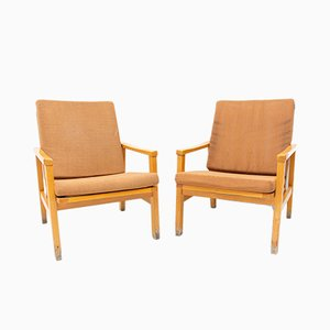 Mid-Century Armchairs from TON, 1970s, Set of 2