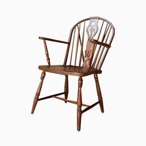 Wooden Farm Chair, 1960s