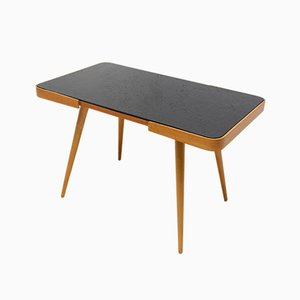 Mid-Century Opaxite Glass Coffee Table from Interier Praha, 1960s