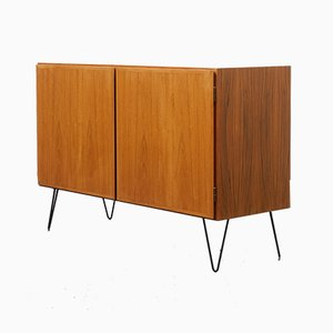 Danish Teak Dresser with Hairpin Legs, 1960s