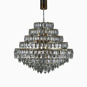 Large Austrian 11-Tier Chandelier from Bakalowits & Söhne, 1960s