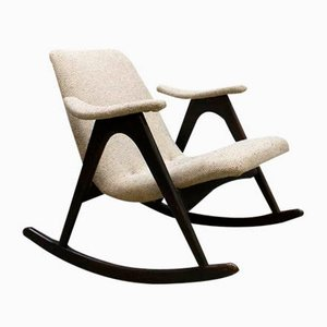 Dutch Rocking Chair by Louis van Teeffelen for WéBé, 1960s