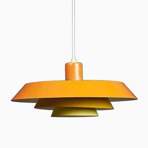 Lampe à Suspension Modèle Troika Mid-Century par Bent Karlby pour Lyfa, 1960s