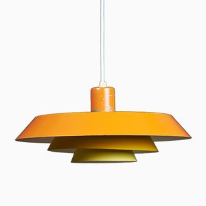 Mid-Century Model Troika Pendant Lamp by Bent Karlby for Lyfa, 1960s