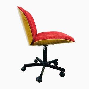 Schreibtischstühle von Ico Luisa Parisi für MIM, 1980er, 4er Set