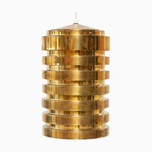 Brass Model T487 Pendant Lamp by Hans-Agne Jakobsson for Hans-Agne Jakobsson AB Markaryd, 1960s