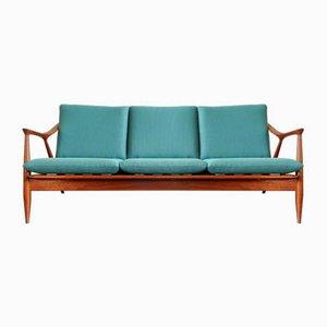 Niederländisches Mid-Century 3-Sitzer Sofa im dänischen Stil von De Ster Gelderland, 1960er