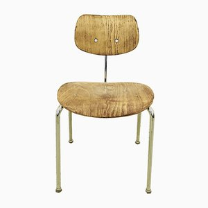 Chaises de Salon SE68 en Placage de Chêne par Egon Eiermann pour Wilde + Spieth, 1960s, Set de 10