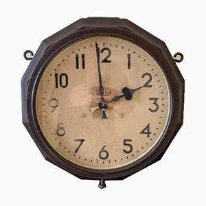 Doppelseitige Uhr von Smith Electric, 1950er