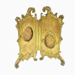 19th Century Gilt Bronze Picture Frame
