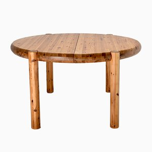 Pinewood Dining Table by Rainer Daumiller, 1960s