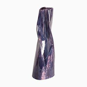 Grand Vase en Céramique Émaillée par Memi Costa, 1960s