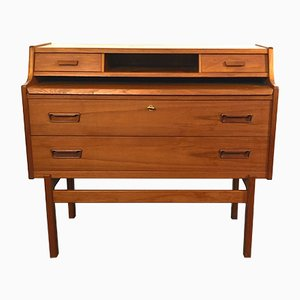 Teak Secretaire by Arne Wahl Iversen for Vinde Møbelfabrik, 1960s