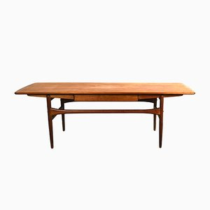 Teak Filigree Crafted Coffee Table from Arrebo Mobler, 1960s