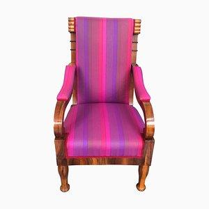 Antiker Biedermeier Sessel