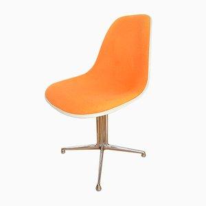 Silla auxiliar modelo La Fonda de Charles & Ray Eames para Vitra, años 60