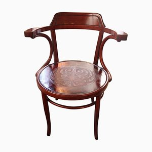 Antique Art Nouveau Austrian Armchair from Jacob & Josef Kohn