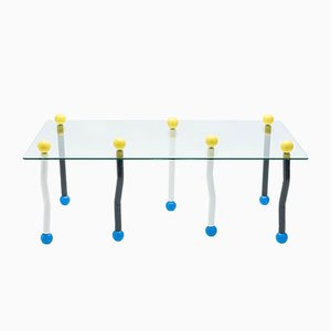 Grande Table Basse Style Memphis Milano, Italie, 1990s