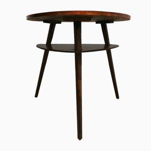 Vintage Triangle Side Table from Drevopodnik Holesov, 1950s