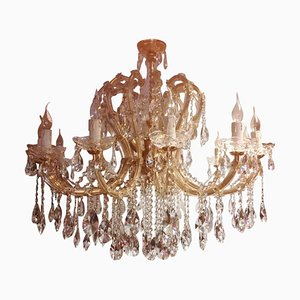 Italian Large Maria Theresa 20-Light Chandelier, 1960s
