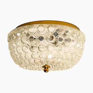 Bubble Flush Mount or Wall Sconce by Glashütte Limburg, 1960s