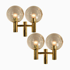Swedish Wall Lights the Style of Hans Agne Jacobsson, 1970s, Set of 2