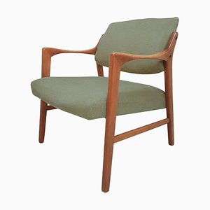 Swedish Solid Teak Chair by Inge Andersson, 1960s