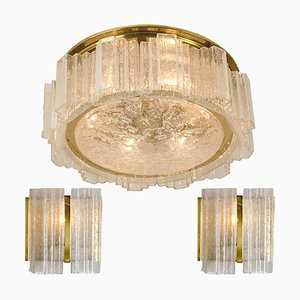 Light Fixtures by Doria Leuchten Germany, 1960s, Set of 3
