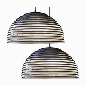 Large Saturno Hanging Lamps by Kazuo Motozawa, 1972, Set of 2