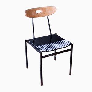 Stuhl in Schwarz & Weiß von Markus Friedrich Staab, 1950er